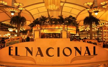 el nacional multi restaurant culinary space barcelona