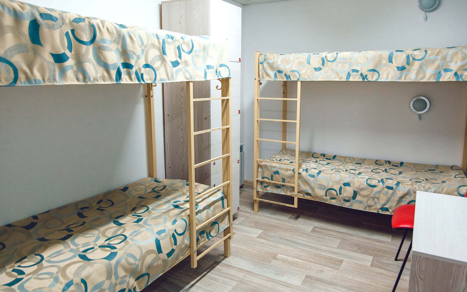 clean hostel beds in barcelona spain