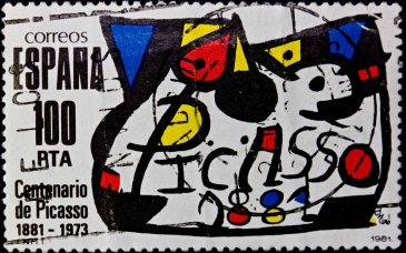 a poster of the picasso museum barcelona