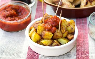 top tapas restaurant does patatas bravas in barcelona