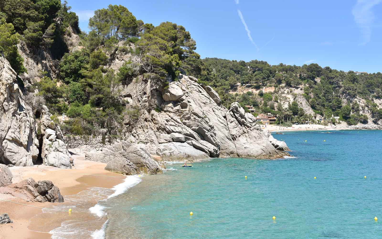 one of the best beaches in costa brava
