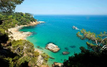 one of lloret de mar beaches