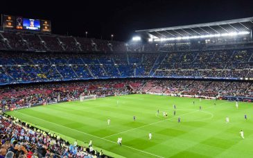 fc barcelona tickets view from the second level at camp nou