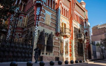 the exterior of casa vicens barcelona