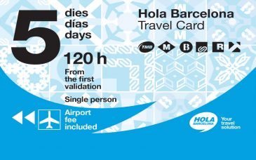hola bcn unlimited transport card barcelona